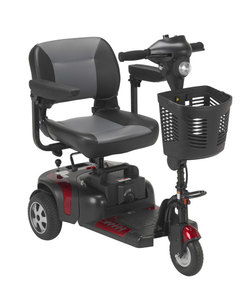 Phoenix 3 Wheel Heavy Duty Scooter Red