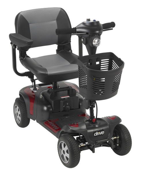 Phoenix 4 Wheel Heavy Duty Scooter Red
