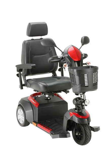 Ventura 3 DLX Wheel Scooter with Captain Seat Blue