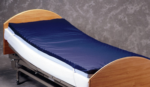 Gel Mattress Overlay on Bed