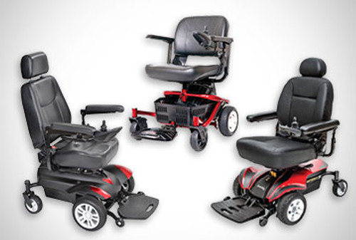 Trio of Power Chairs