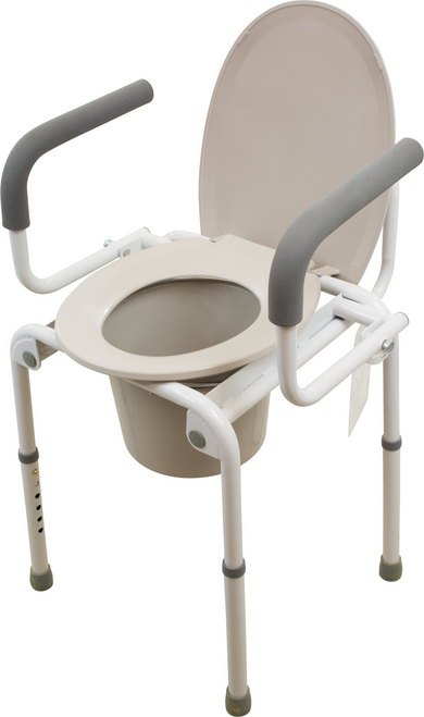 Standard Drop Arm Commode