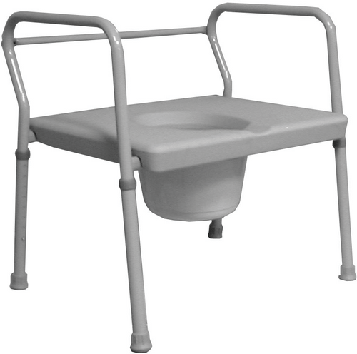 "Roscoe 24"" Extra Wide Commode (650 lb. Wt Cap)"