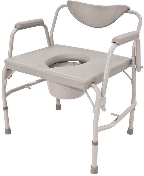 "Roscoe 24"" Extra Wide Commode (600 lb. Wt Cap)"