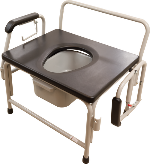 "Roscoe 26"" Extra Wide Commode (800 lb. Wt Cap)"