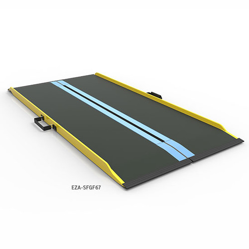 Graphite Fiber Portable Suitcase Ramp