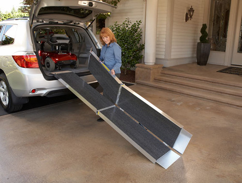 Trifold Advantage Series Suitcase Ramps