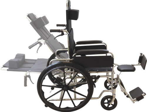 Recling-back Wheelchair