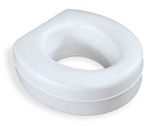 Medline Contoured Plastic Raised Toilet Seat