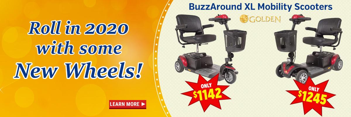 Buzzaround Mobility Scooters