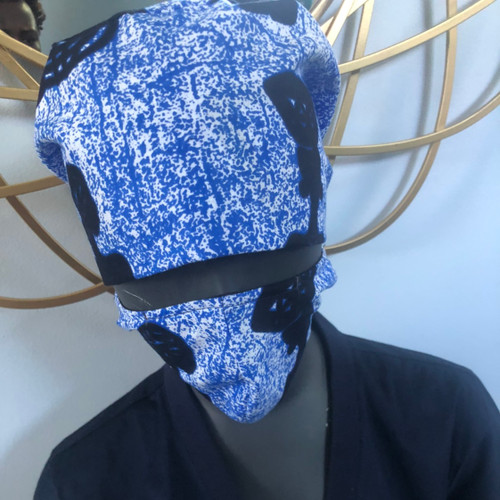 Blue Hat and Mask set