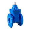 Cascade (ACC) Resilient Seated Flanged Gate Valve PN10/16 - Anti-Clock Close , Cap Top.