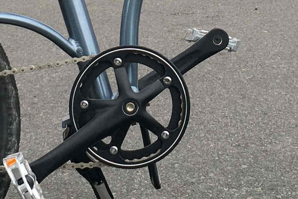 8C folding bike cranks