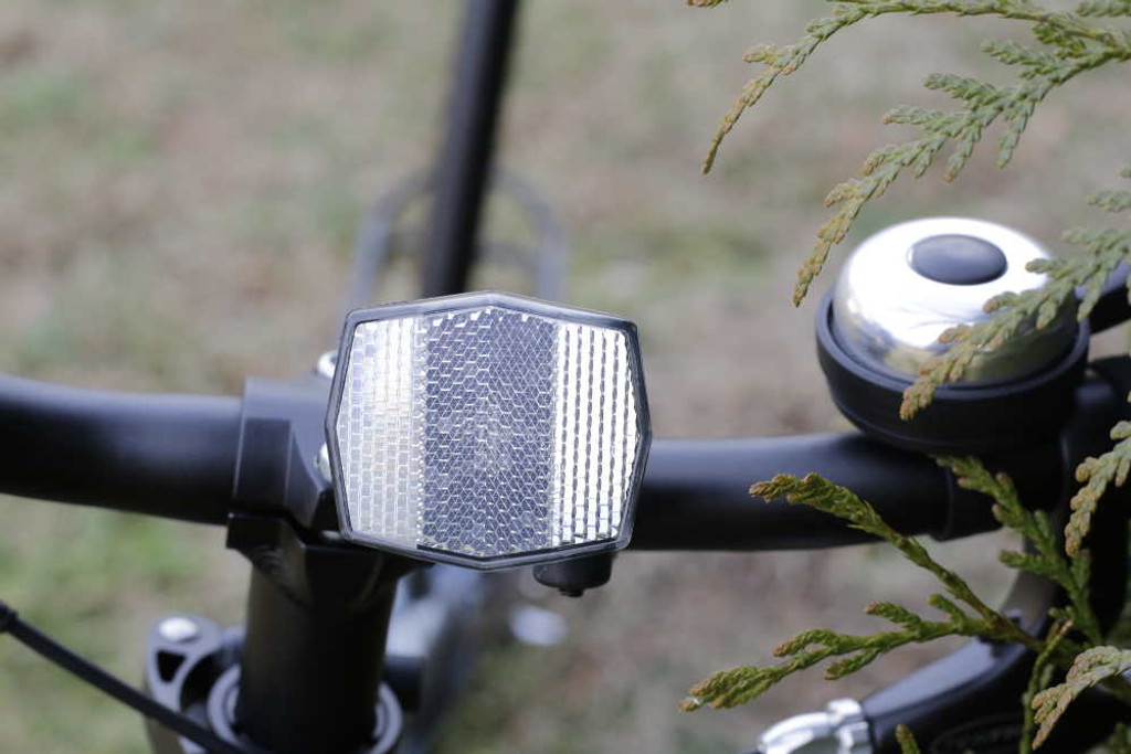 reflector and controls for cycling