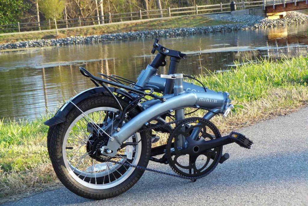 mini 11 folded bike