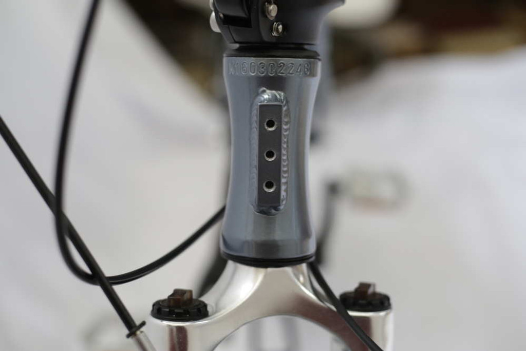 aluminum Headtube with bag interface