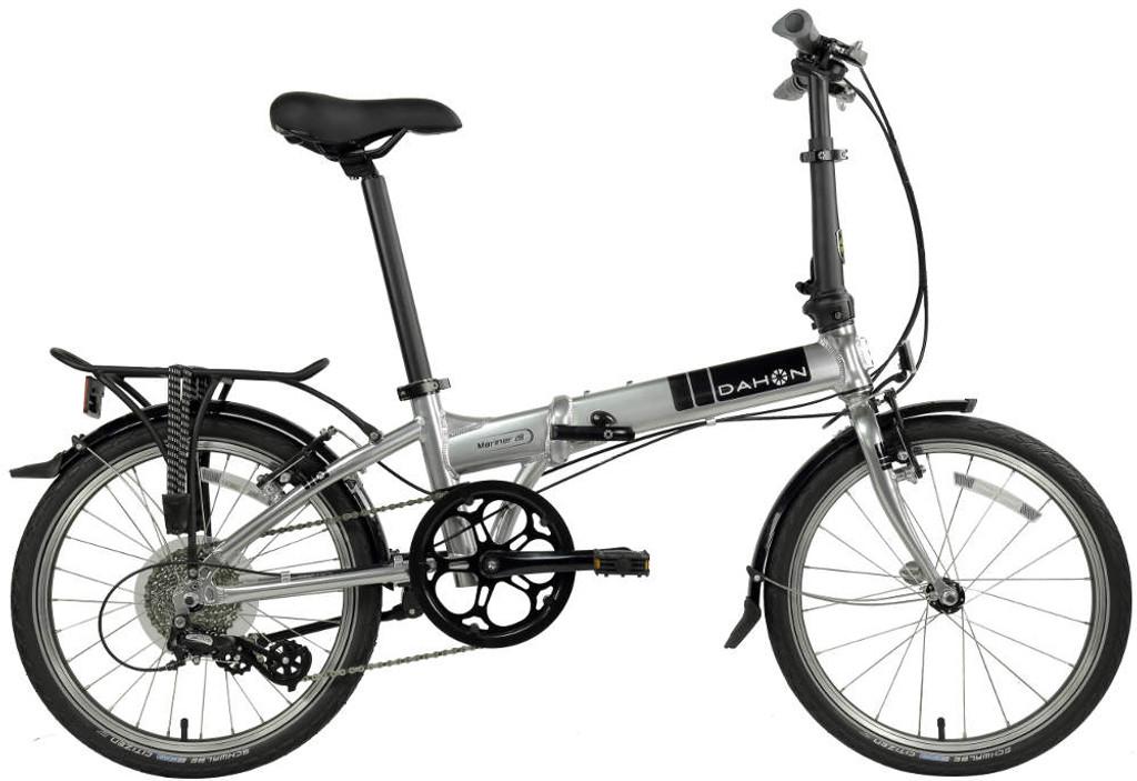 Dahon mariner Folding Bike standing