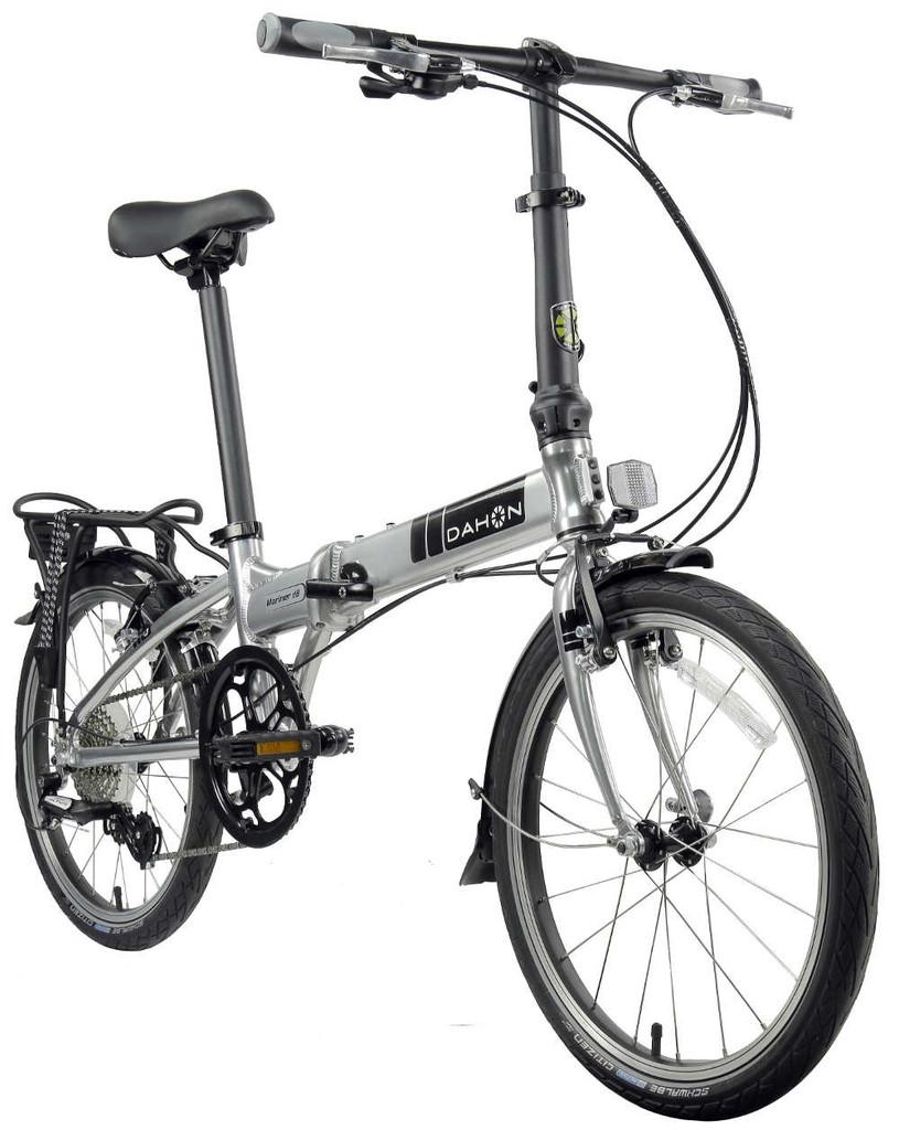 Dahon mariner Folding Bike angled front