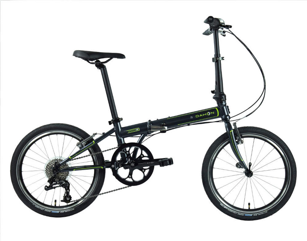 Dahon Speed 8 Folding Bike Standing