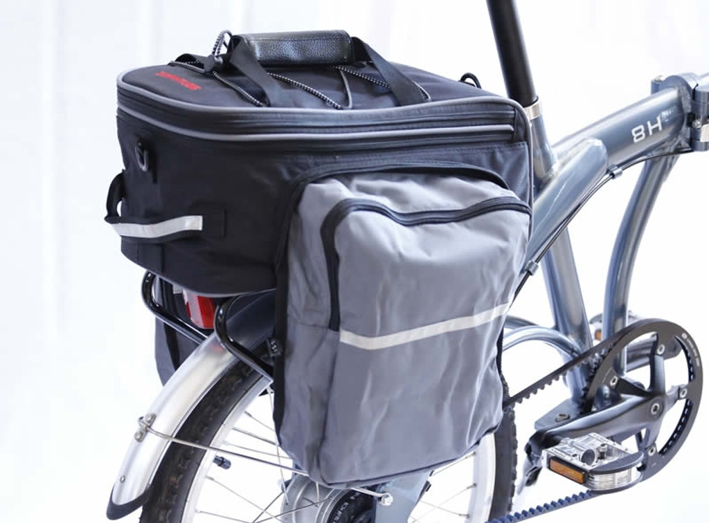 Rack Pack with Panniers (  Coconut Bag )
