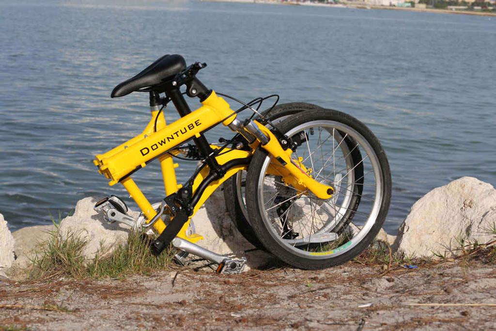9FS yellow folded Clearwater beach