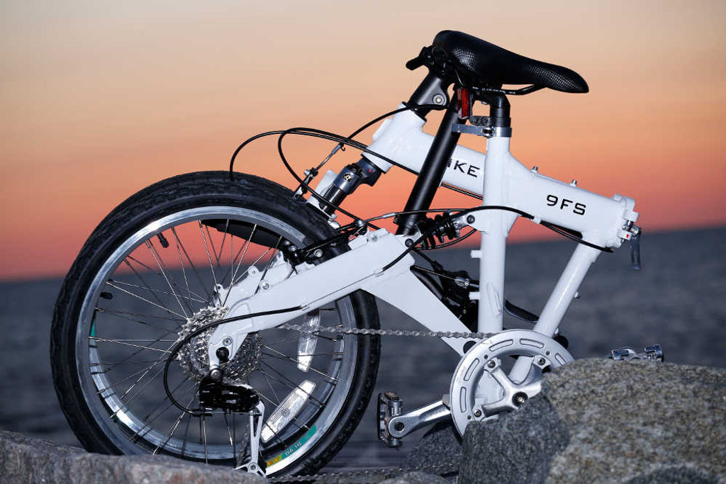 Downtube 9FS Full Suspension Folding Bike