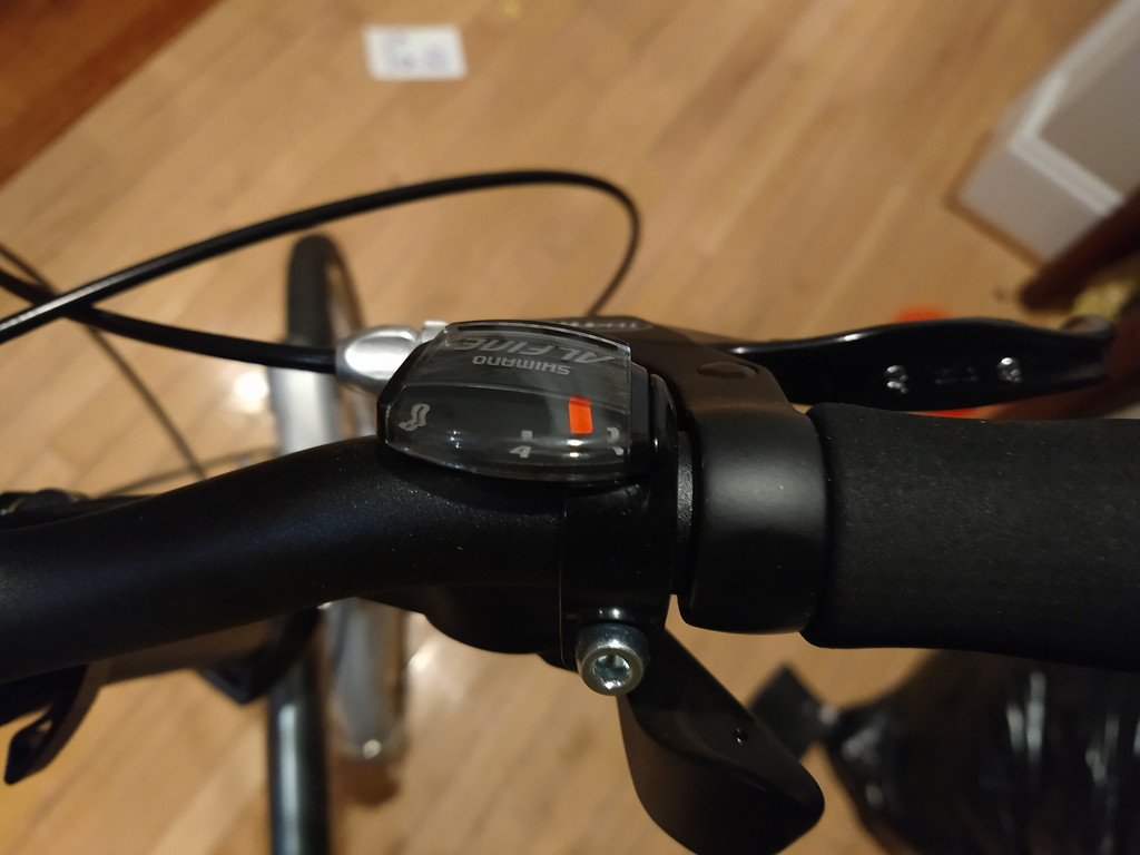 Trigger shifter for the internal hub