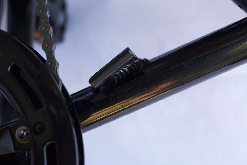 Kids mountain bike Front derailleur braze-on