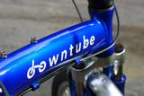 11H blue logo bicycle