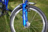 11H blue fork