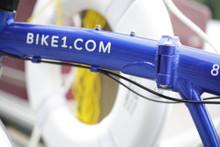 8C folding bike top tube