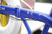 8C folding bike model name
