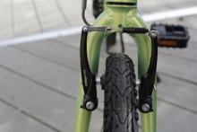 mini folding bike front brakes