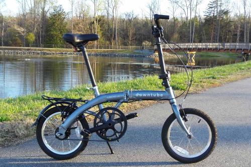 mini 11 bicycle standing