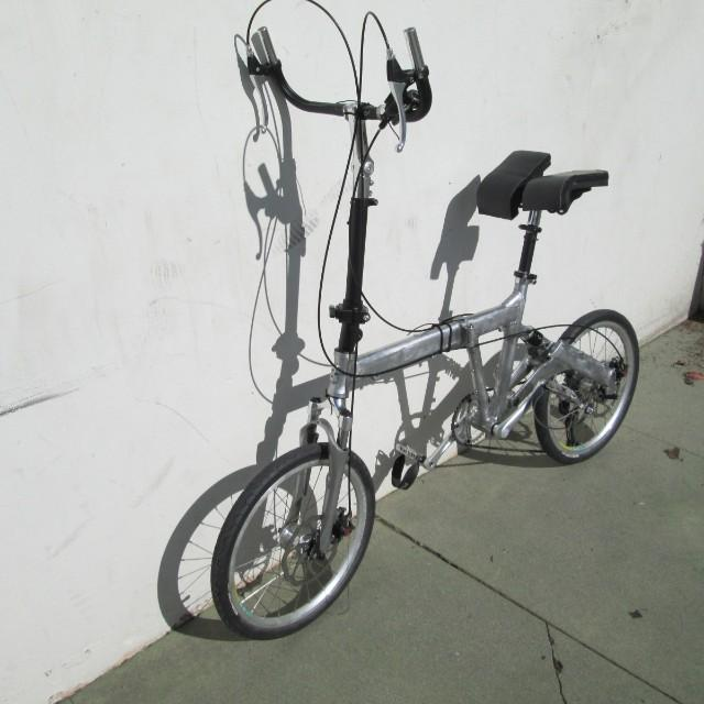 Super custom folding bike