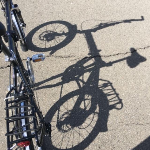 9S folding bike with disc