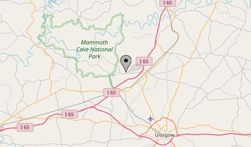 mammoth cave map