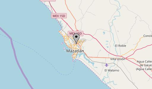 mazatlan map