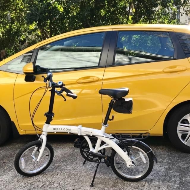 folding bike with Honda fit