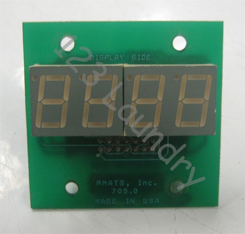 Stack Dryer PH-5 Display Board ADC 137098 Used