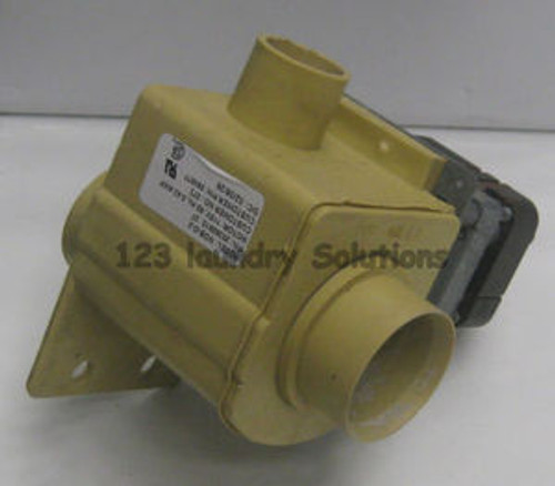 "115V Drain Valve 2"" Speed Queen Super 20/Super II, 81937"