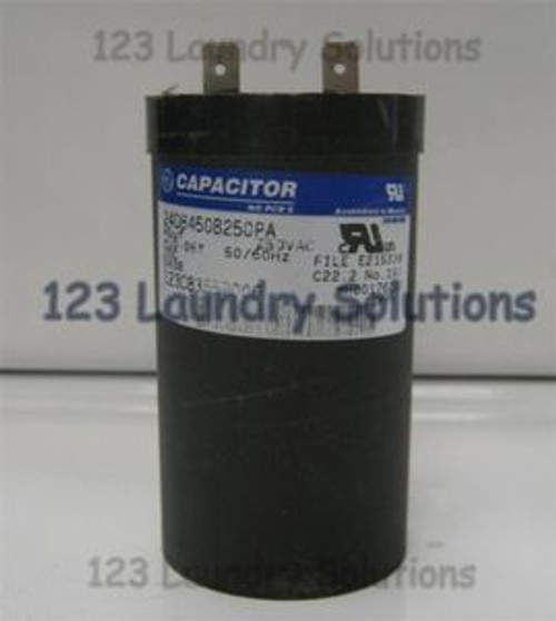 GE Top Load Washer, Motor Capacitor #123C8355P006