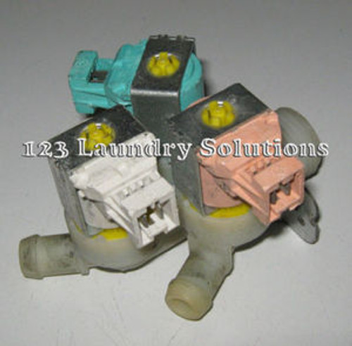 Front Load Washer 3-way inlet Valve 220V Primus 340030038 Used