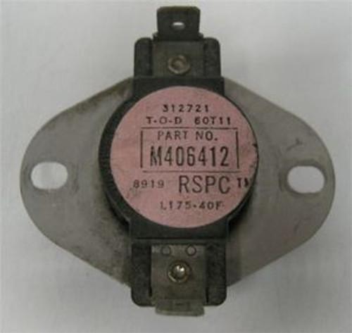* Dryer Limit Thermostat L175F Huebsch, M406412