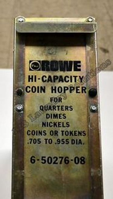 ROWE Bill Changer Hi-Capacity Coin Hopper 6-50276-08