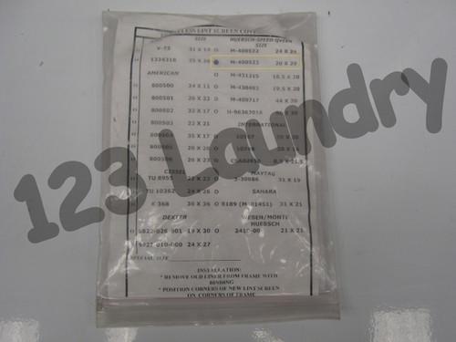 * Generic Dryer 20 X 20 Frameless Lint Screen Speed Queen, M400523