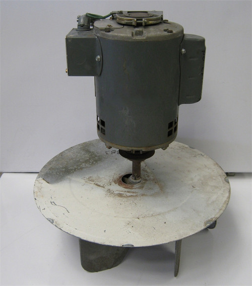 Huebsch Single Pocket Dryer Motor M4833P3 M400383