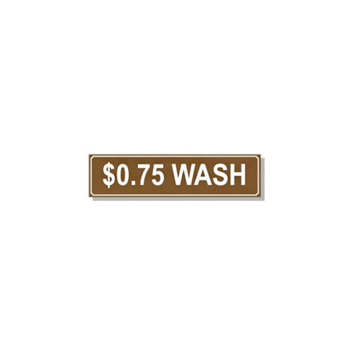 Washer Pricing Decal - PD $0.750W