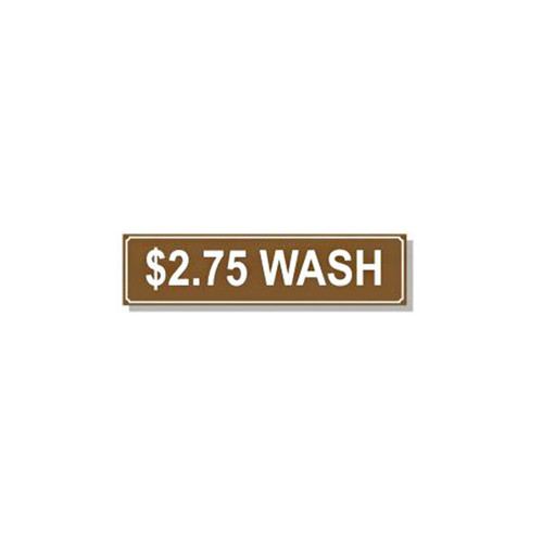 Washer Pricing Decal - PD $2.75W