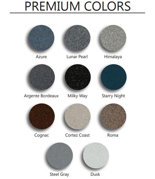 Premium Color Chart